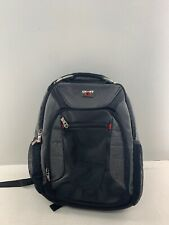 New Wenger by SwissGear Black on Grey Multi-Compartment Backpack