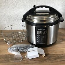 Emson INDOOR PRESSURE SMOKER & COOKER 5 Qt Capacity New