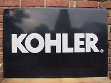 KOHLER Engines Equpment Embossed Metal Dealer Adv Sign feed seed hardware store
