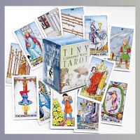 POCKET SIZE TINY UNIVERSAL WAITE TAROT CARDS DECK DIVINATION FORTUNE TELLING