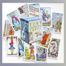 TINY UNIVERSAL WAITE TAROT CARDS DECK DIVINATION FORTUNE TELLING