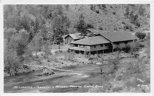H94/ Fort Collins Colorado RPPC Postcard c1920 Poudre Canon Mishawaka 220