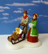 DEPT 56 Dickens Village TO THE MANOR BORN!    New, Couple, Stroll