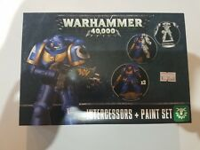 Games Workshop Warhammer 40k Space Marine Intercessors + Paint Set NIB