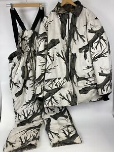 VTG Johnson Garment Hunting Set Mens Bib Overalls Jacket XL Tall Coat XXXL Pant