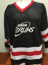 Vintage Yamaha Drums Made In Canada By Kobe Men's Large Hockey Jersey
