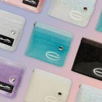 [ALMOSTBLUE] TWINKLE Jelly Transparent Wallet 7 colors with necklace