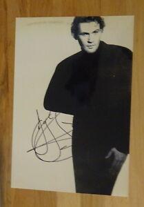 ORIGINAL Autogramm von Johnny Logan. pers. gesammelt u. 100 % ECHT. GROSSFOTO