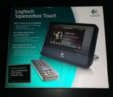 NEW Logitech Squeezebox Touch Wi-Fi Media Player Music Streamer Internet Radio