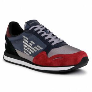 Scarpe Sneaker Emporio Armani Shoes Uomo Blu X4X215 XM561 N234