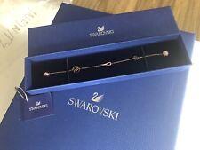 Swarovski Remix Bracelet Infinity Faith Charm Rose Gold Gift Box