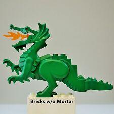 New Genuine LEGO Green Dragon Castle 6082 6087 Animal