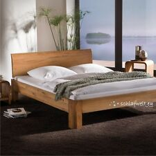 Hasena Oak-Line Eiche massiv Bett m. Kopfteil Lisio und Fuß Ronda 180 x 200 cm