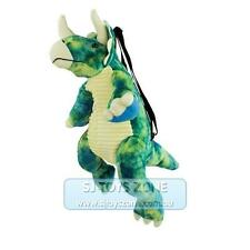 Johnco Productions Plush Patch Stega Backpack Soft Stuffed Toy Bag for Kids
