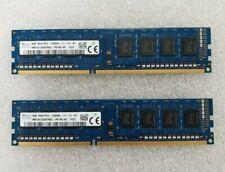 8GB (2x4GB) HYNIX PC3-12800U-11-13-A1 DDR3-1600 Desktop Memory RAM HMT451U6AFR8C
