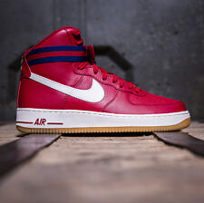 BNWT NEW MEN Boys Red Nike Air Force 1 High 07 Size 6 uk