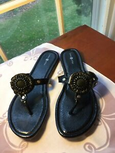 Lindsay Phillips Women's sandals  Rosie Black size 10