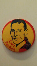 Carl Perkins artist singer rockabilly vintage buttons LARGE BUTTON 2