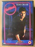Cocktail DVD 1988 Barman Bar Tender Drama Classic w/ Tom Cruise