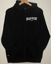 "Duffer of St George Black Label Sigma Full Zip Hoody Size UK Large 40 - 44"""