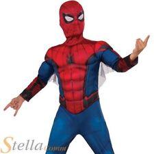 costume garçon Deluxe SPIDERMAN Robe de soirée déguisement super héro enfants