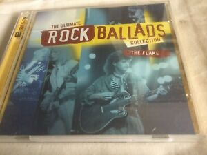ULTIMATE ROCK BALLADS COLLECTION -THE FLAME - TIME LIFE 2 x CDS-LIKE NEW-POISON
