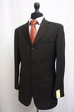 Men's Hugo Boss Einbstein/Sigma Black Suit Jacket Blazer 38R SS8754