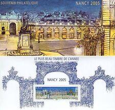 FRANCE BLOC SOUVENIR N° 14 NANCY 2005 NEUF SOUS BLISTER