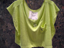 Abercrombie & Fitch, Luxury Ladies Lounge Top, Cover up. Size L, HOT NEON COLOR!