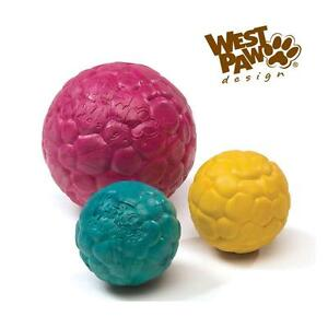"""West Paw Air Boz Floating Ball Toy in Small 2.5"""" and Large 4"""" Made in USA"""