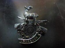 Innsbruck Rifle And Ram Hat Pin