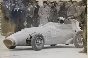 26602 Photo Racer Jacques Cales France 1961 Racing Car Diver