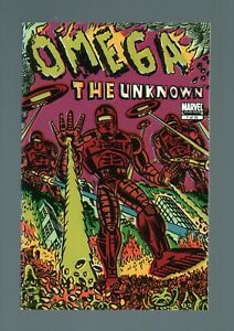 OMEGA THE UNKNOWN N°7  . COMICS EN ANGLAIS . 2008 . MARVEL .