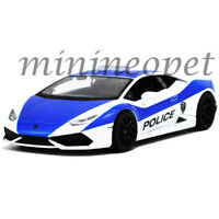 MAISTO 32513 LAMBORGHINI HURACAN LP610-4 POLICE CAR 1/24 DIECAST BLUE / WHITE