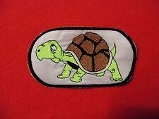 Ricamate patch testuggine TURTLES aufbügler bambini ricamate