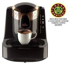 Arzum Okka OK001 Automatic Turkish/Greek Coffee Maker/Machine, Black. European