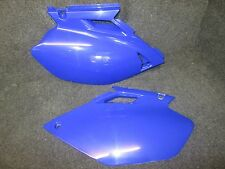 Yamaha YZF250 YZF450 03-05 X-Fun blu posteriore pannello laterale targhe CP019