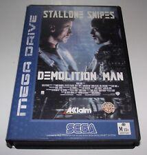 Demolition Man Sega Mega Drive PAL *Complete* Ex Rental