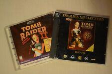 Tomb Rider 2 1998 and Tomb Rider 2 Golden Mask 1999 PC Lara Croft EXTRA Levels