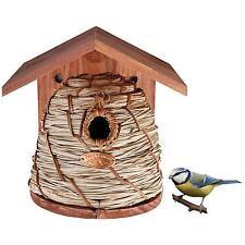 Esschert Design NKBH Vogel-Nistkasten Nisthaus Bienenkorbform, 21x20x26cm