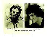 "Gunnar Hansen and David Hess The ""Killer of a Tour"" Tour 2000  Photo"