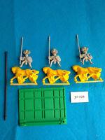 Battle Masters - 3 Caballeros del Imperio Montados con Base de Unidad - JU328