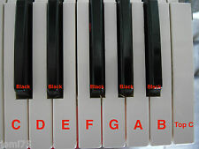 Touche clavier Korg 90' synth M1 T2 T3 01W o1W FD PRO Clé Notes White Black KEYS