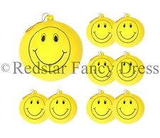 20 x LARGE SMILEY PUNCH BALLOONS PARTY BAG FILLERS CHILDRENS LOOT BAGS TOYS