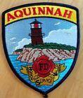 AQUINNAH MASSACHUSETTS MA FIRE DEPT LIGHTHOUSE FD PD HONOR SERVICE VALOR EMS