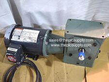 Emerson Electric Motor Gearbox 1HP 148RPM Hytrol 4A Reducer Gear Head Conveyor
