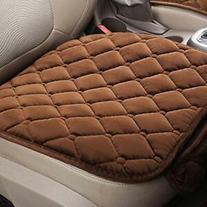 Universal Anti-Slip Car Seat Cover Warm Front Rear Chair Plush Cushion Mat Pad