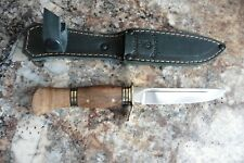 Russian WWII Red Army Puukko hand made EDC, bushcraft, survival, hunting knife