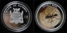 Zambia 1000 kwacha 2010- Deadly bugs- bullet ant