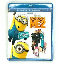 Despicable Me 2 Blu-ray and DVD 2013 2-Disc Set Includes Digital HD Ultraviolet